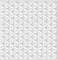 white geometric 3d texture vector image vector image
