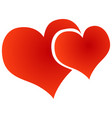 heart icon love symbol vector image vector image