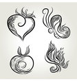 Ink Hand Drawing vector image vector image