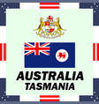 official government elements of australia vector image