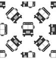 School Bus icon pattern vector image