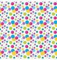 Seamless variegated polka dot pattern EPS10 vector image