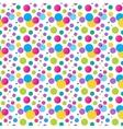 Seamless variegated polka dot pattern EPS10 vector image vector image