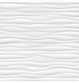 white texture abstract pattern seamless wave wavy vector image vector image