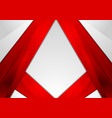 Abstract red modern tech corporate background