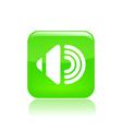 audio icon vector image vector image