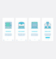 electronic devices for home kitchen ux ui vector image vector image