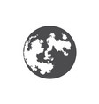 flat icon planet for web business finance and vector image vector image