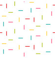 line rectangle sticks shapes tiny seamless vector image vector image
