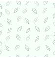 pattern leaf vector image vector image