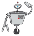 Robot7 resize vector image vector image