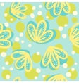 Cute hand drawn floral pattern vector image vector image