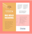 justice business company poster template with vector image vector image