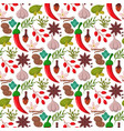 spices condiments seamless pattern backgroun vector image