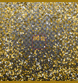 star pattern transparent background gold gift vector image vector image