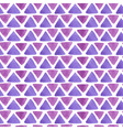 triangle watercolor pattern purple vector image vector image