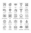web design icons 1 vector image vector image