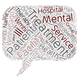 winnebago mental health institute 1 text vector image vector image