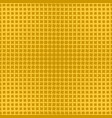yellow abstract halftone line pattern background vector image vector image