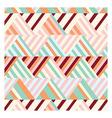 Bohemian Stripe Pattern vector image vector image