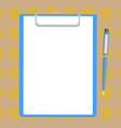 design business empty template isolated minimalist vector image
