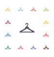 hanger flat icons set vector image vector image