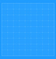 square blueprint background vector image