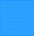 square blueprint background vector image