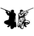 hunter 2 vector image