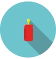 icon Red bottle for feeding vector image vector image