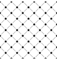 Seamless simple pattern with stars vector image vector image