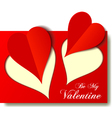 Valentine love hearts for any occasion vector image