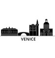 venice architecture city skyline travel vector image vector image