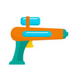 watergun icon flat style vector image vector image