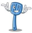 wink spatula character cartoon style vector image vector image