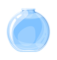 Empty Elixir Bottle vector image