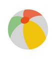 beach ball icon image vector image vector image