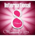 Beautiful background design for womens day vector image vector image