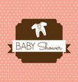 bebi shower1 resize vector image vector image