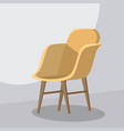 chair cartoon isolated vector image vector image