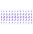 gay symbol shape halftone effect vector image vector image