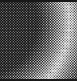 halftone dotted background pattern design vector image vector image