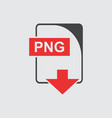 png icon flat vector image vector image