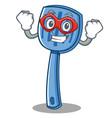 super hero spatula character cartoon style vector image vector image