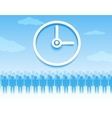 Time management background vector image vector image