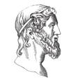Aristotle vector image vector image