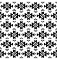 aztec pattern tribal background navajo vector image vector image