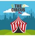 circus show design vector image vector image