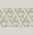craft geometric maze seamless pattern vector image vector image