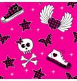 emo symbols wallpaper vector image vector image